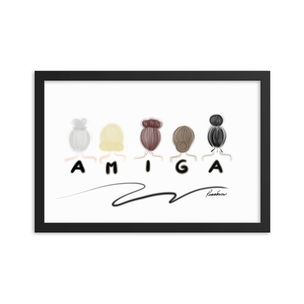 Amiga Art Print (Framed)