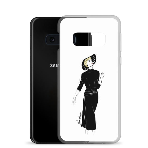 Timeless in Black  Samsung Case