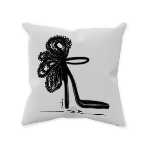 Beauty in Darkness Throw Pillows