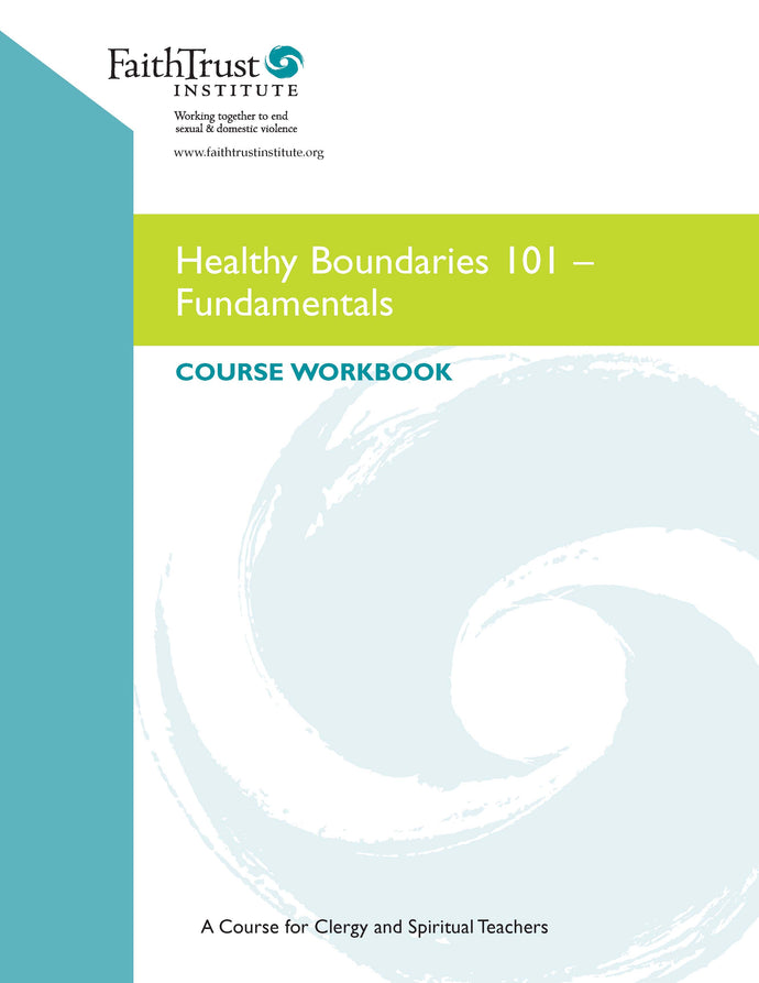 Healthy Boundaries 101 Participant Workbook - ENGLISH edition