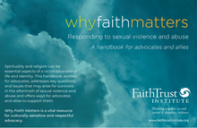 Why Faith Matters: Responding to Sexual Violence and Abuse