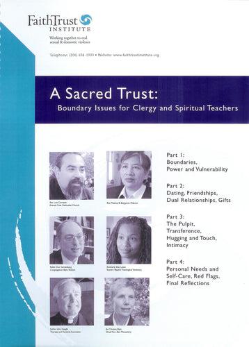 A Sacred Trust [Streaming Video: ONE WEEK]
