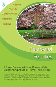 Peaceful Families Brochure: Addressing Domestic Violence in Muslim Families