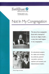 Not in My Congregation: A Clergy Misconduct Docudrama (DVD)
