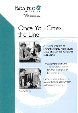 Once You Cross the Line: Addressing Clergy Misconduct [Streaming Video: ONE WEEK]