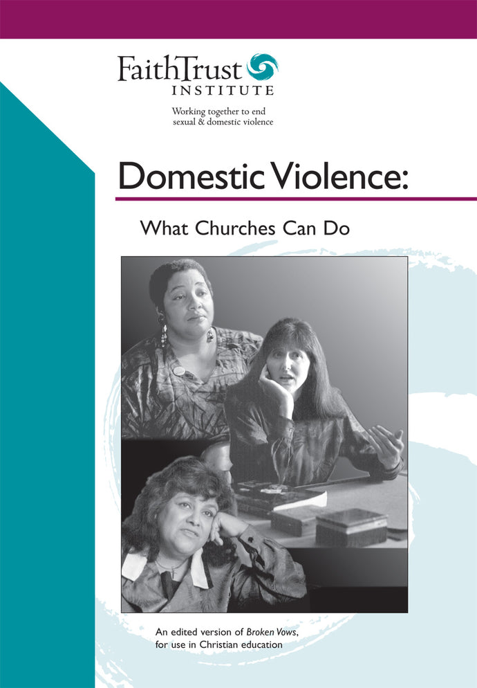 What Churches Can Do: Domestic Violence (DVD)
