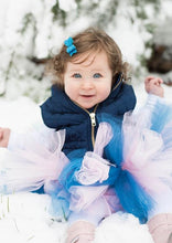 Load image into Gallery viewer, Light Pink & Blue Baby Toddler Tutu