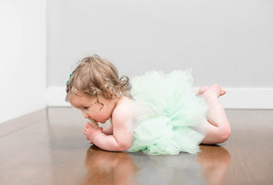 Baby Toddler Mint Green Tutu perfect for a  Costumes or Photoshoot Cakesmash Tutu for Baby or Toddler