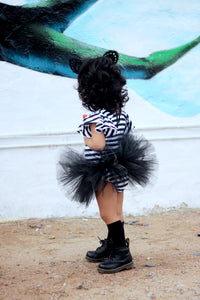 FREE SHIPPING Baby Toddler Black Tutu perfect Halloween Costume Tutu for Baby or Toddler. High Quality Sewn Tutu