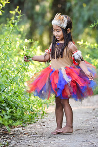 Native American Inspired Tutu dress! Inspired by Pocahontas herself.