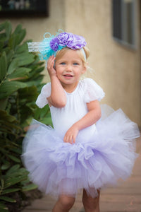 Baby Toddler Lavender Tutu perfect Halloween Costume Tutu for Baby or Toddler
