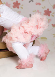 Photo Set Baby Girl Leo, Skirt & Custom Ruffled Leg Warmer Set
