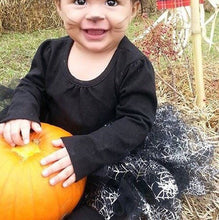 Load image into Gallery viewer, Baby Toddler Spider Web Tutu perfect Halloween Costume Tutu for Baby or Toddler