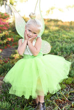 Load image into Gallery viewer, Tinkerbell Inspired Costume Green Tutu dress! Inspired by Tinkerbell herself. FREE Shipping!
