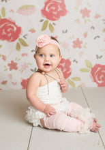 Load image into Gallery viewer, Vintage Look Baby Girl Bloomer & Leg Warmer Set