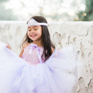 Sofia the First inspired tutu costume dress! Gorgeous lavender top and tulle dress skirt! Baby toddler costumes!