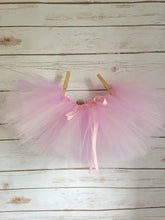 Load image into Gallery viewer, Pink and Lavender Ribbon Tutu