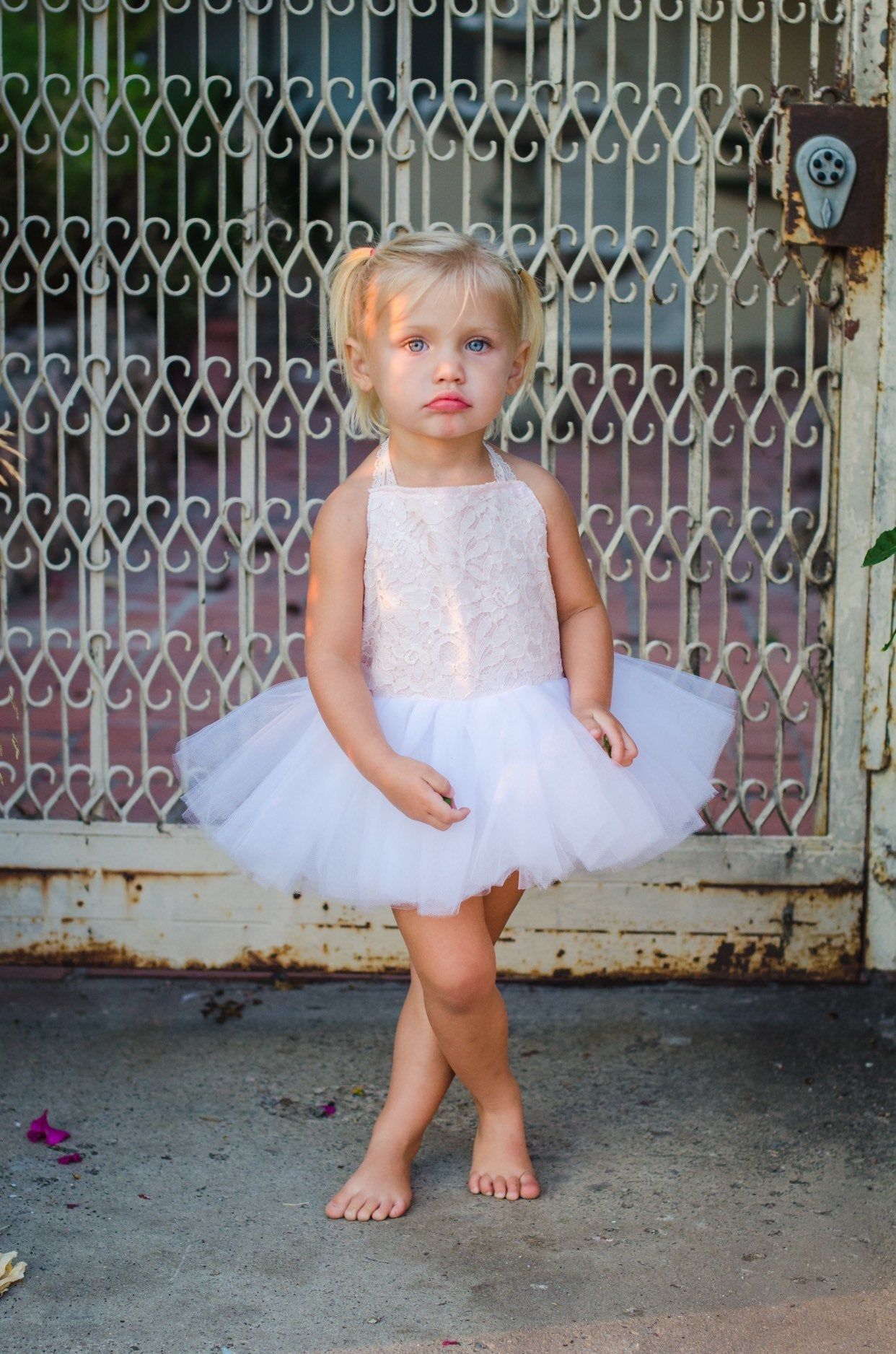 Ballerina Dress in Pink and White!  Baby toddler costumes!
