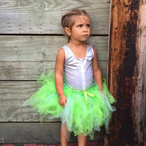 Green Tinkerbell Fairy Tutu!  Baby toddler costumes!