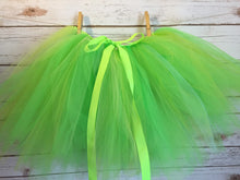 Load image into Gallery viewer, Green Tinkerbell Fairy Tutu!  Baby toddler costumes!