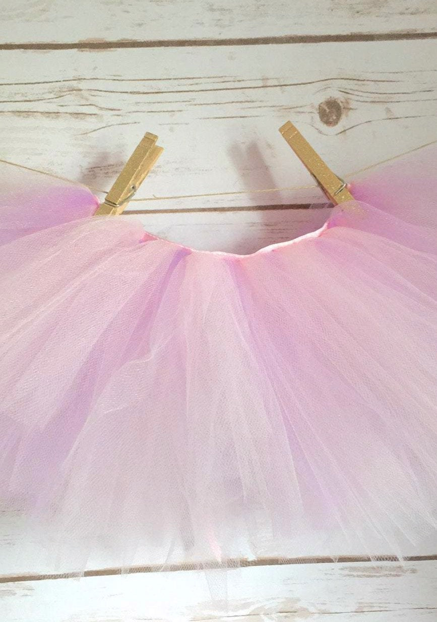 Pink and Lavender Ribbon Tutu