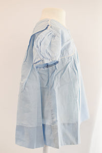 Antique Vintage Soft Blue Baby Dress