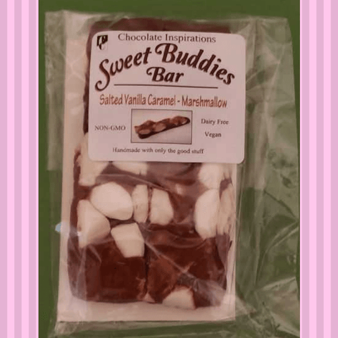 Sweet Buddies Bars-Salted Caramel & Marshmallow