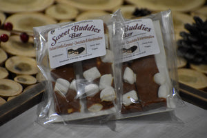 Sweet Buddies Bars-Salted Caramel & Marshmallow™ - 2 Bar Value Pack - Sweet-Satisfaction.com