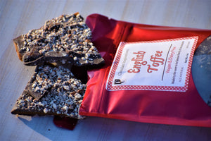 Vegan English Toffee Treat Bag - 2 Bag Value Pack - Sweet-Satisfaction.com