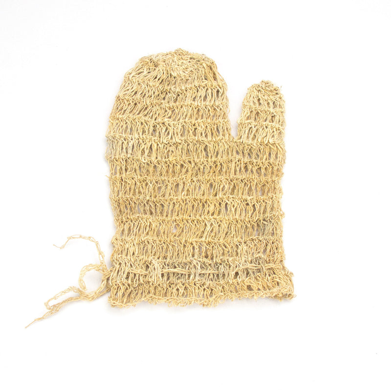Hemp massage glove, body exfoliating glove - Hempalaya