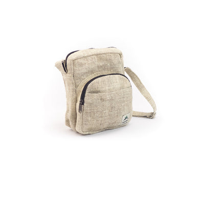Hemp organizer bag, unisex, natural - Hempalaya