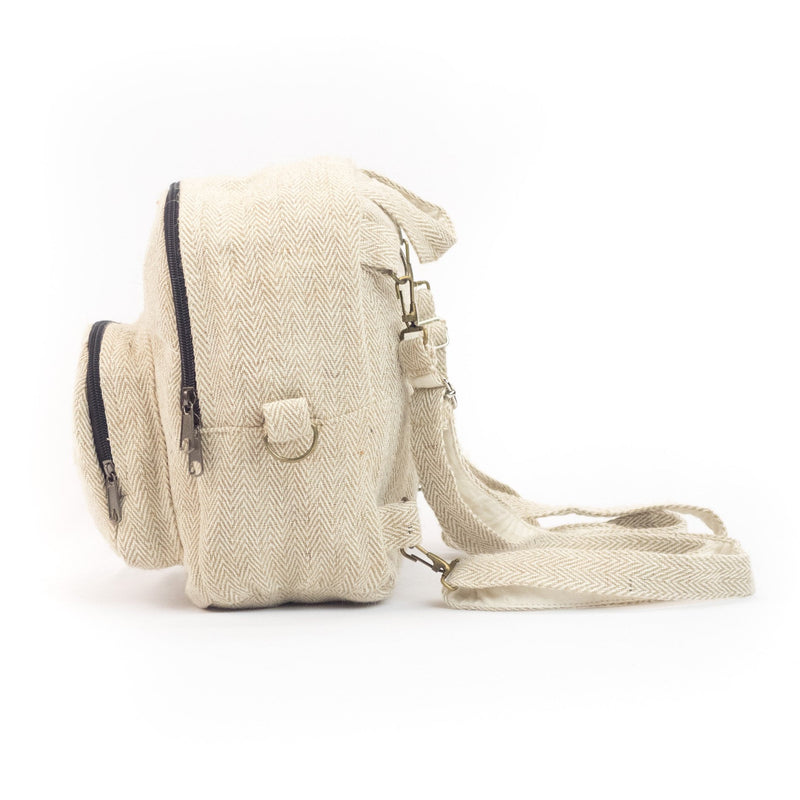 Hemp backpack 2 in 1 - Backpack - Hempalaya