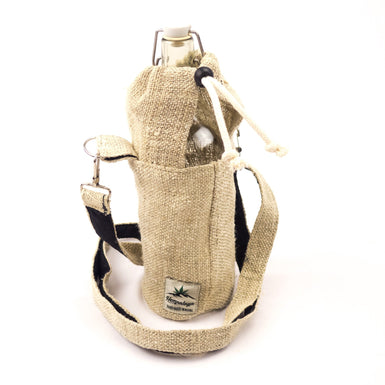 Hemp Water bottle bag, bottle holder - Accessoire - Hempalaya