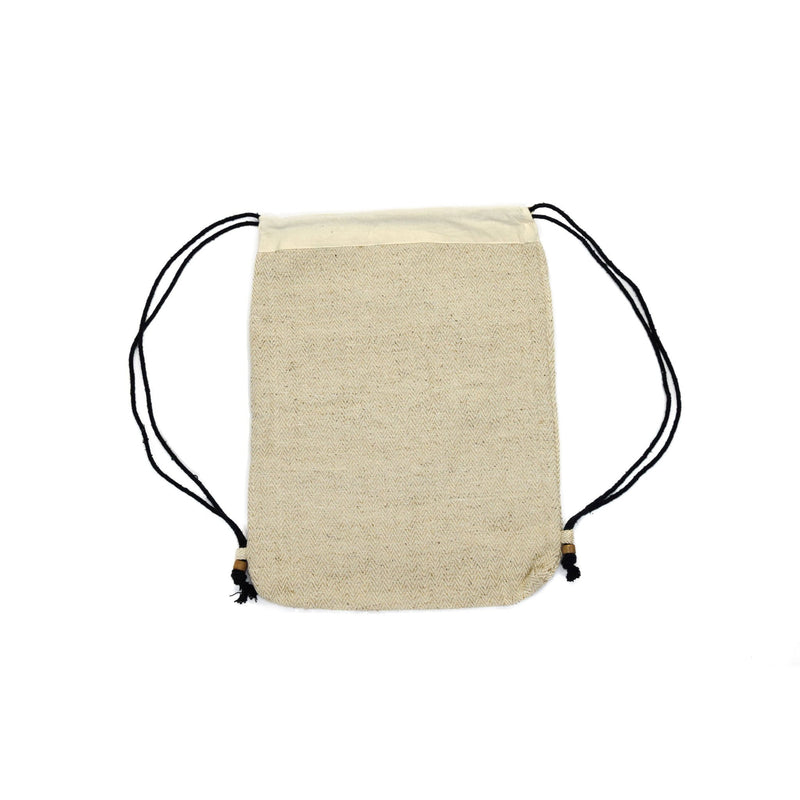 Drawstring bag natural - Bag - Hempalaya