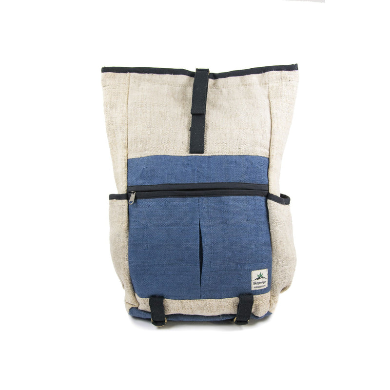 Hemp backpack, day backpack, rolltop - Hempalaya