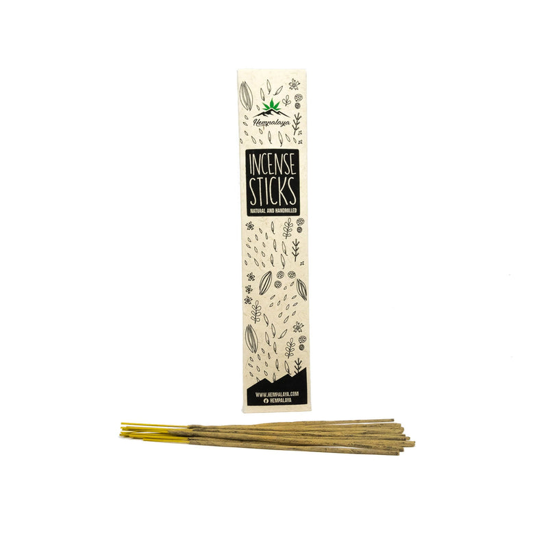 Handrolled incense sticks - Hempalaya