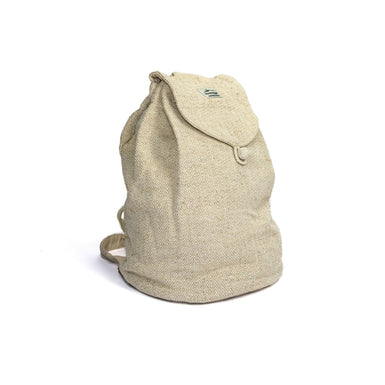 Hemp backpack punty, large, natural - Hempalaya