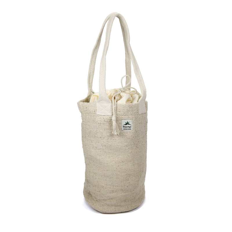 Hemp bag, shoulder bag, shopper, natural - Hempalaya