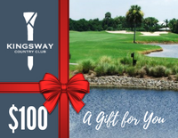 $100.00 Gift Card - Kingsway Country Club, Port Charlotte FL