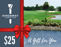 $25.00 Gift Card - Kingsway Country Club, Port Charlotte FL
