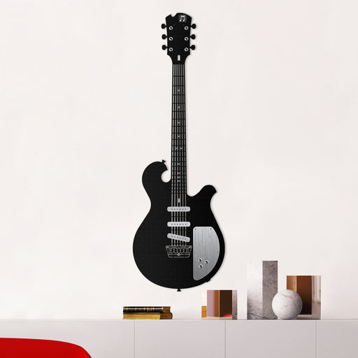 Electric Guitar Metal Tablo - APT220 - Siyah
