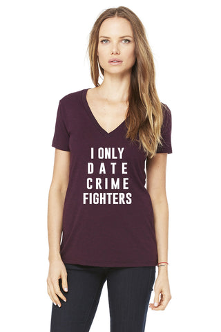 I Only Date Crime Fighters Tee - Dolcetti - 1