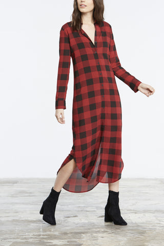 BB Dakota Dunkirk Plaid Shirt Dress - Dolcetti - 4