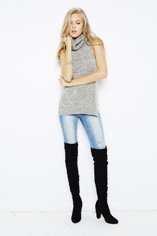MINKPINK Cry Wolf High Neck Tunic - Dolcetti - 1