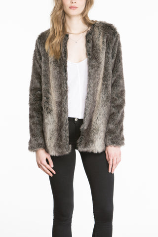 Jack by BB Dakota Caddy Fur Jacket - Dolcetti - 1