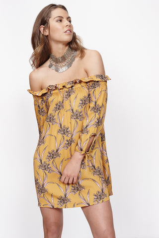 MINKPINK Sri Lanka Off The Shoulder Dress
