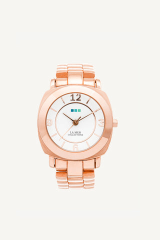 La Mer Odyssey Mini Linked Band Watch