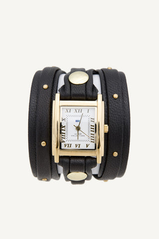 La Mer Collections Studded Wrap Watch - Dolcetti