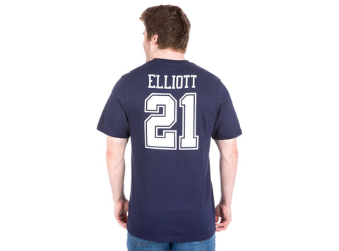 pretty nice 6c36c 0cc88 DALLAS COWBOYS - AUTHENTIC PLAYER JERSEY TEE (ZEKE ELLIOTT)
