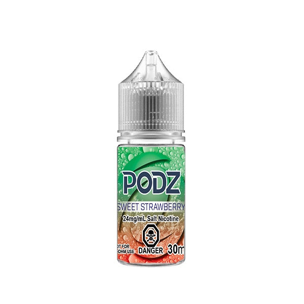 Podz – Sweet Strawberry - Summit Vape Co.